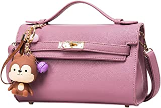 Wultia - Bags for Women 2019 Fashion Women Handbag Shoulder Bag Messenger Large Tote Leather Ladies Purse Bolsa Feminina Purple