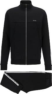 BOSS Mens Tracksuit Set 1 Regular-fit tracksuit in cotton-blend jersey