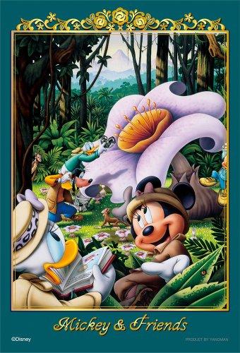 204ピース ジグソーパズル ディズニー パズルプチ ジャングル探検中! スモールピース(10x14.7cm)