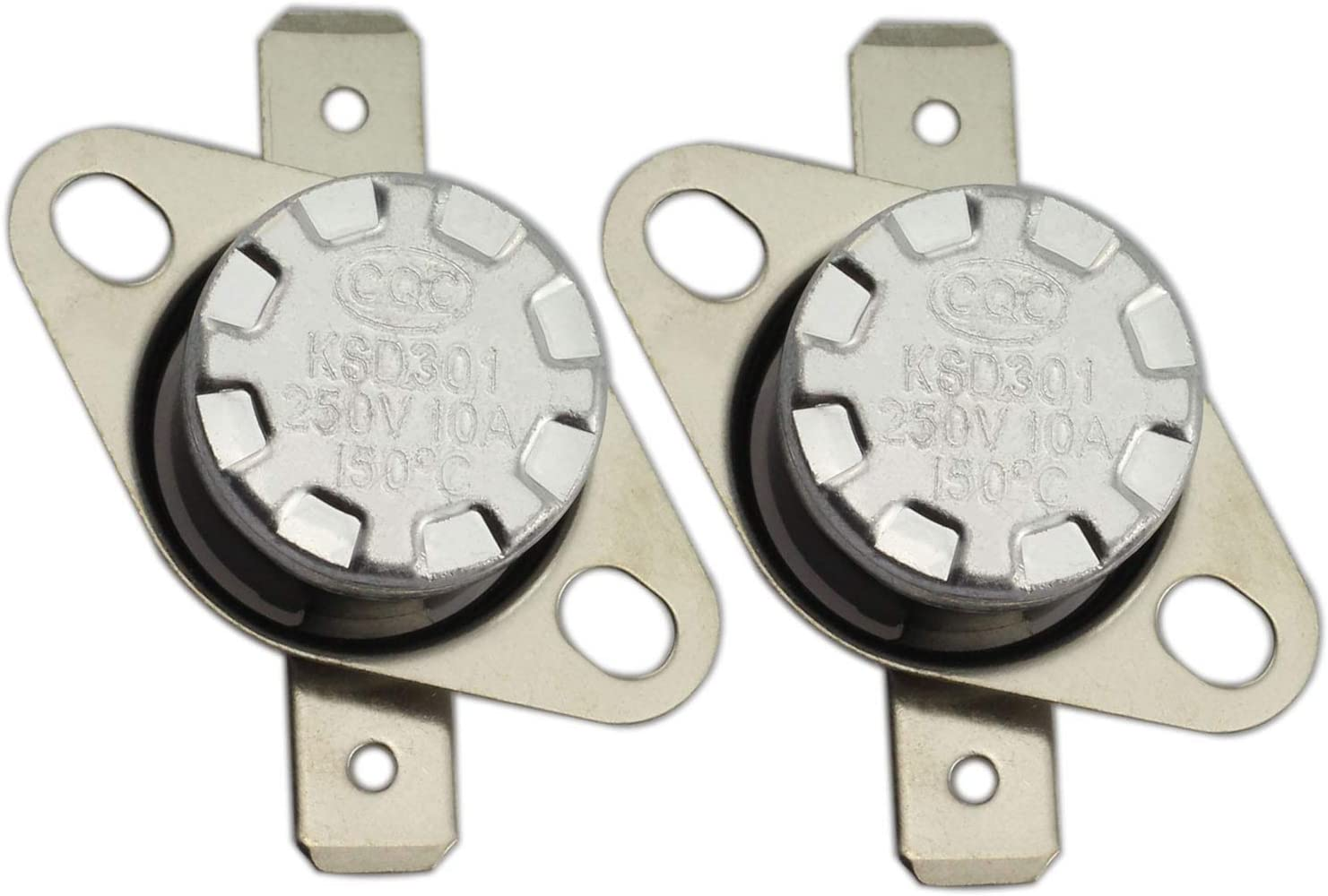 E-outstanding 2PCS Normally Open 5% OFF Sale special price T Switch Temperature Thermostat