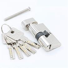 Slot Deurcilinder 55 60 65 70 75 80 85 90mm Security Copper Lock Cilinder Interieur Slaapkamer Wonen Handvat Brass sleutel...