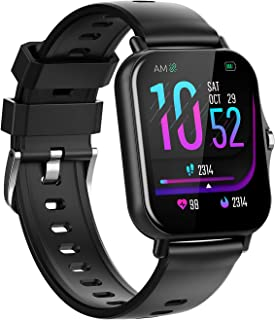 Sponsored Ad - Smart Watches,Pipishoop SP2 Fitness Tracker Heart Rate Monitor Watches for Men Women,1.69-inch Color Displa...