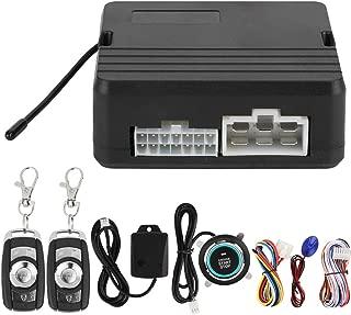 One Button Engine Start, One Button Engine Start Car Vibration Alarm System Ignition Push&Remote Control 12 V (Number 2)