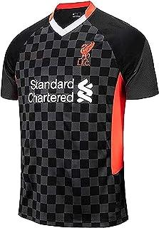 LLM Soccer Suit Men's Football Jersey,2020/2021 Liverpool Champions Football T-Shirt,Kid's Supporter T-Shirt Sport Top Fan...