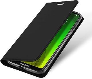 AnnTec Motorola Moto G7 Plus ケース G7 Plus カバー スタンド機能 手帳型ケース PUレザー 折り畳み式 全面保護カバー カード収納 (Moto G7 Plus, ブラック)