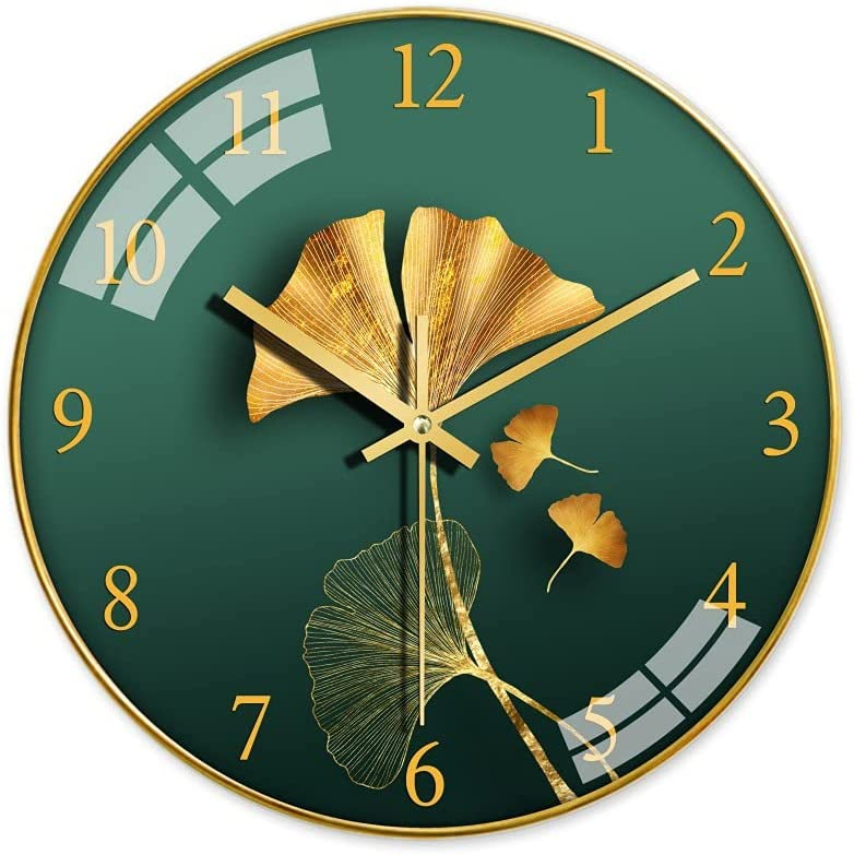 Decorative Wall Clock Electronic Silent Special price 12-inch sale Wa Fashion