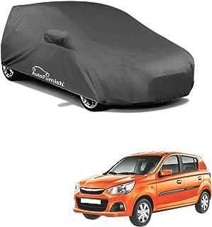 Autofurnish Premium Grey Car Body Cover Compatible with Maruti Alto K10 - Grey