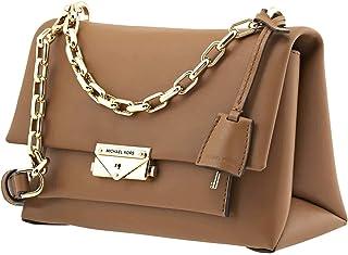 MICHAEL Michael Kors Whitney Large Denim Logo Shoulder Bag, Denim Blue Multi