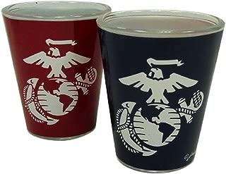 Jenkins Enterprises United States Marines Two Tone Shot Glass