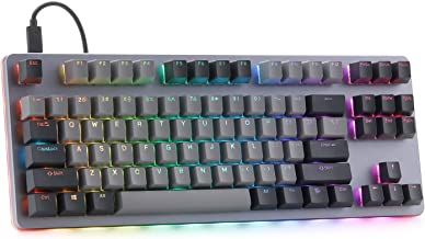 Drop CTRL Mechanical Keyboard — Tenkeyless TKL (87 Key) Gaming Keyboard, Hot-Swap Switches, Programmable Macros, RGB LED B...