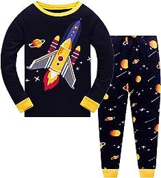 Ensemble pyjama 2 pièces à manches longues pour bé