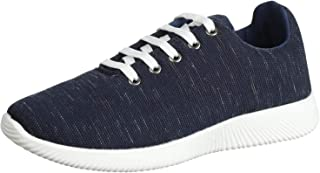 Salerno Two-Tone Textile Lace-Up Sneakers for Men