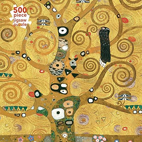 Adult Jigsaw Puzzle Gustav Klimt: The Tree of Life (500 Pieces): 500-Piece Jigsaw Puzzles