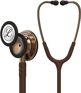 3M Littmann Classic III Monitoring Stethoscope, Copper-Finish Chestpiece, Chocolate Tube, 27 inch, 5809