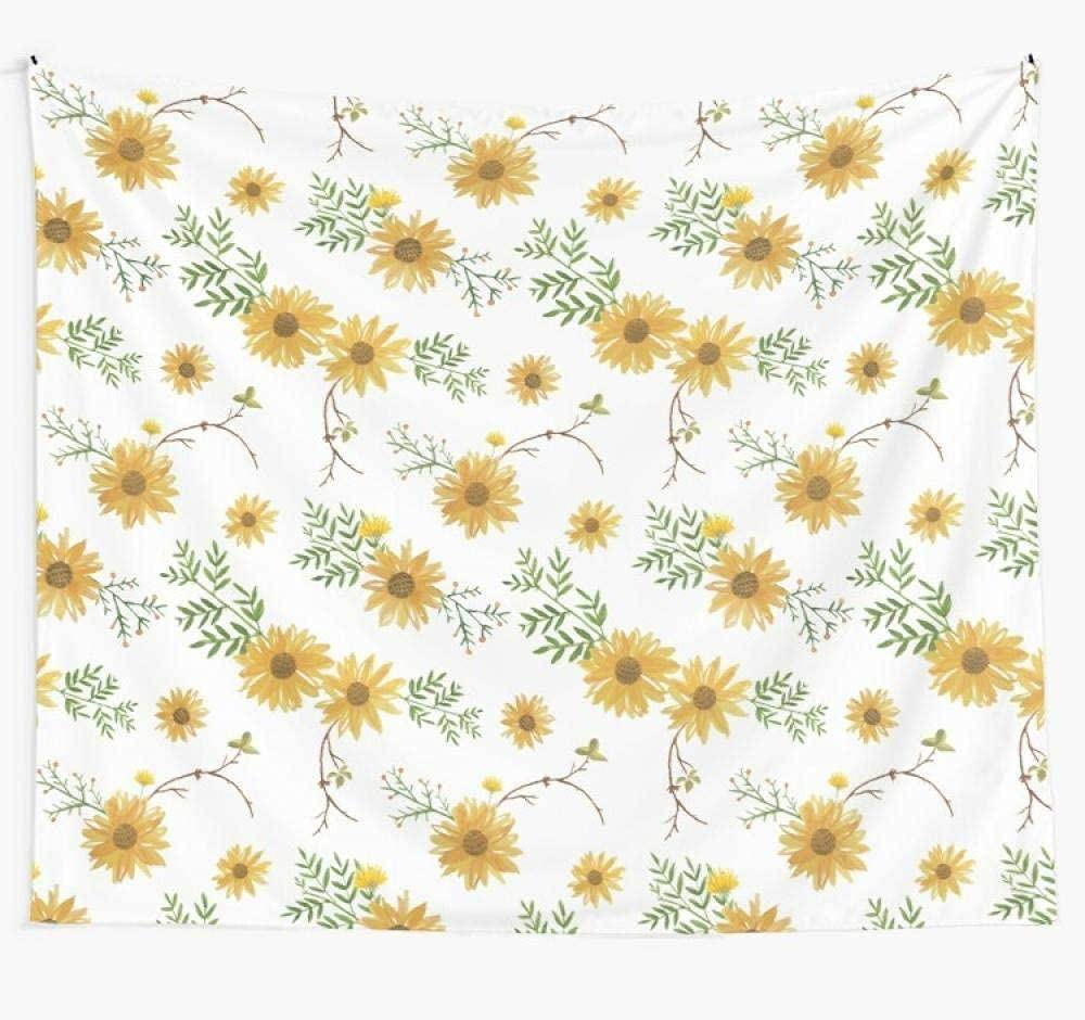 QDEI Tapestry Sunflower Wall Cheap sale Tapestries Hanging Ar OFFicial site Dorm