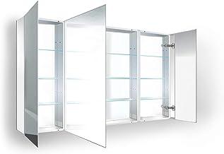 "Krugg Medicine Cabinet | Recess or Surface Mount | Blum Hinge 170 Degree Soft Close | (48""x30"")"