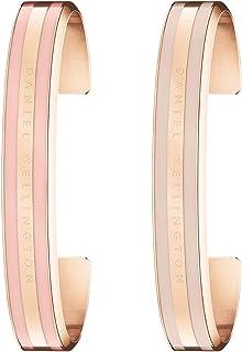 Daniel Wellington Unisex's Classic Bracelet Dusty Rose & Desert Sand Gift Set