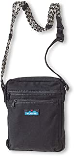 KAVU Zippit Crossbody Bag Cotton Purse With Adjustable Rope Strap
