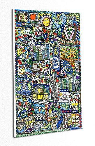 Kunstdruck As Busy as a Rizzi can get Sonne Tasse Poster Plakat Rizzi Platte 102