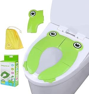 Upsy Daisy Trainings-Toilettensitz f/ür die Toilette mit komfortablem gepolstertem Design f/ür kleine Kinder Rosa