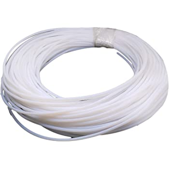 50 Length Fluorostore F018127-50 Fractional FEP Tubing 5//8 ID x 11//16 OD Transparent 5//8 ID x 11//16 OD 50/' Length Fluorotherm Polymers