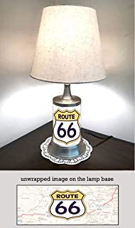 Route 66 Lamp with Shade