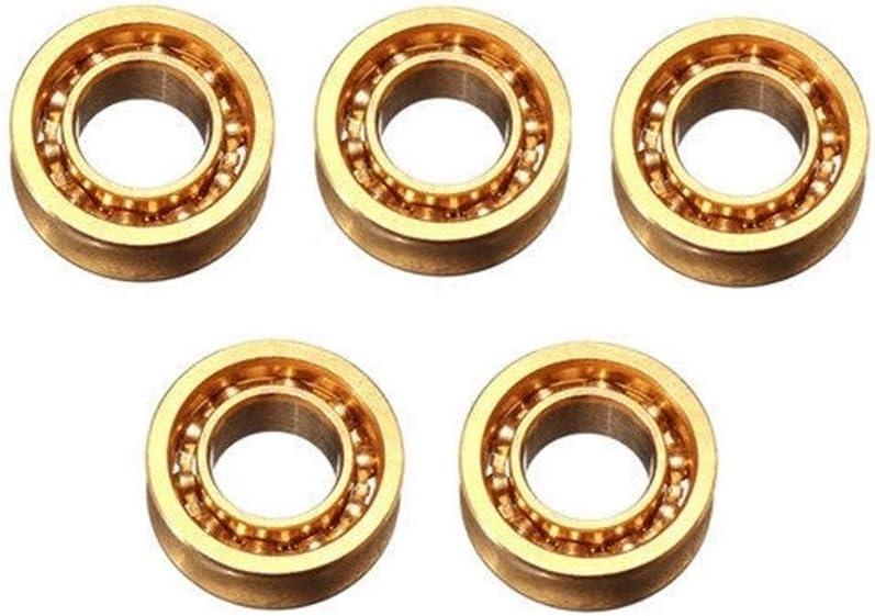 Bearing Tool Accessories Japan Maker New Phoenix Mall 5pcs 6.35x12.7x4.762mm R188 Mien Amber