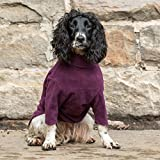 HOTTERdog by Equafleece® Fleece Dog Jumpers - Sizes XS - XL Colours Grape & Green - Keep Your Dog Warm, Dry, and Comfortable (M, Grape)