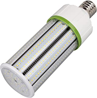 60W LED Corn Light Bulb 8100Lm 175W to 250W Metal Halide HID HPS Replacement LED, Large Mogul E39 Base Led Corn Bulb for Industrial Commercial Lighting, Garage, Warehouse, Parking Lot, DLC&UL-Listed