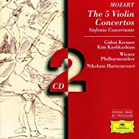 Mozart: The 5 Violin Concertos ~ Kremer (1997-02-11)