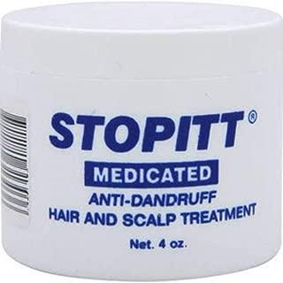 Stopitt Medicated Anti-Dandruff Hair & Scalp Treatment, 4 oz (Pack of 3)