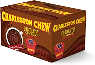 Charleston Chew Chocolatey Nougat Hot Cocoa Single Serve - 12 Count