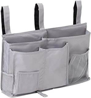 Singeru Bed organizer hanging pocket bag foldable bed organiser pocket college home bed Baby cot stroller car head cusion