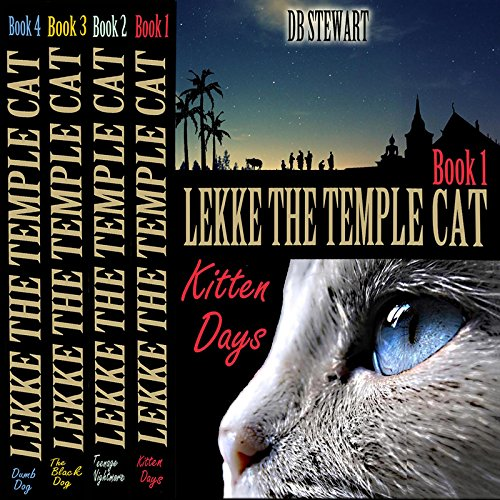 Lekke the Temple Cat, Books 1-4 audiobook cover art