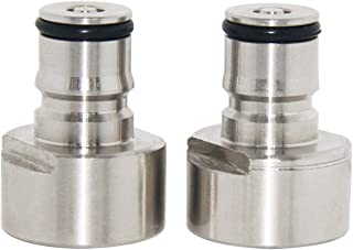 Ball Lock Keg Coupler Adapter - LUCKEG Brand Sankey to Ball Lock Quick Disconnect Conversion Kit, Work with Homebrew A D S G Type Keg Coupler