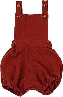Baby Boy Romper Organic Cotton Double Gauze Toddler Kids Boys Girls Boutique Clothes 0 3 6 9M Jumpsuit
