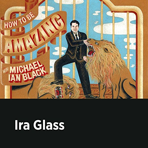 Ira Glass audiobook cover art