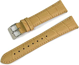 CASSIS AVALLON Alligator Grain Embossed Calf Watch Strap 19mm with Tool