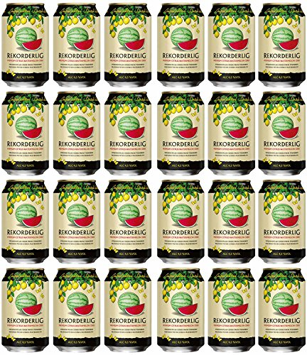 Rekorderlig - Citrus-Watermelon Cider 4,5% - 24x0,33l