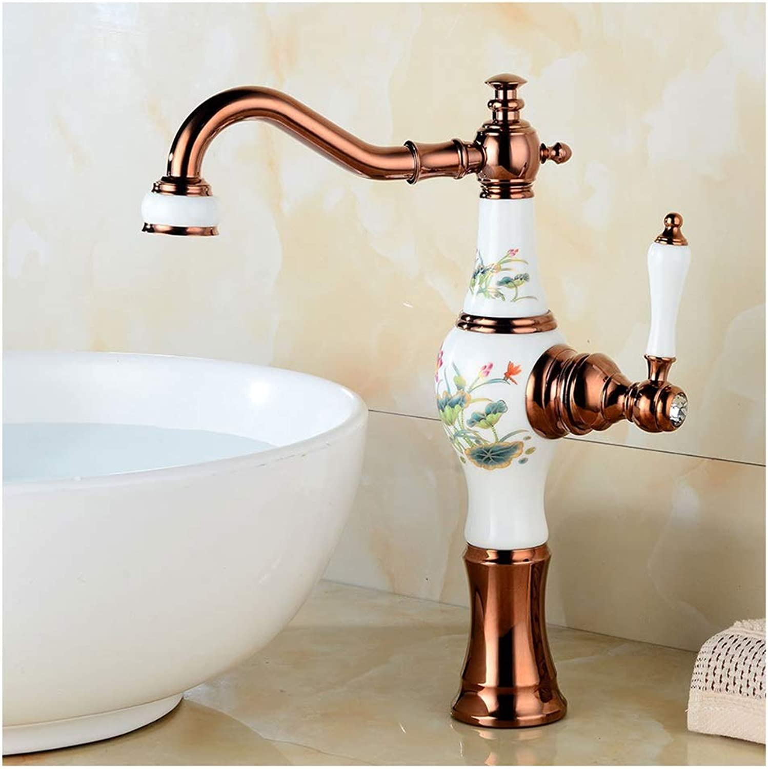 ASHENG Kitchen Sink Taps Bathroom Basin Sink Tap, Faucet, Cloakroom Small Kitchen Lavatory Sink Mixer Tap In Brushed Stainless Steel