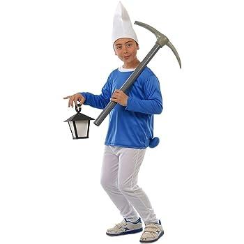 Disfraz de Pitufo (10-12 años): Amazon.es: Juguetes y juegos