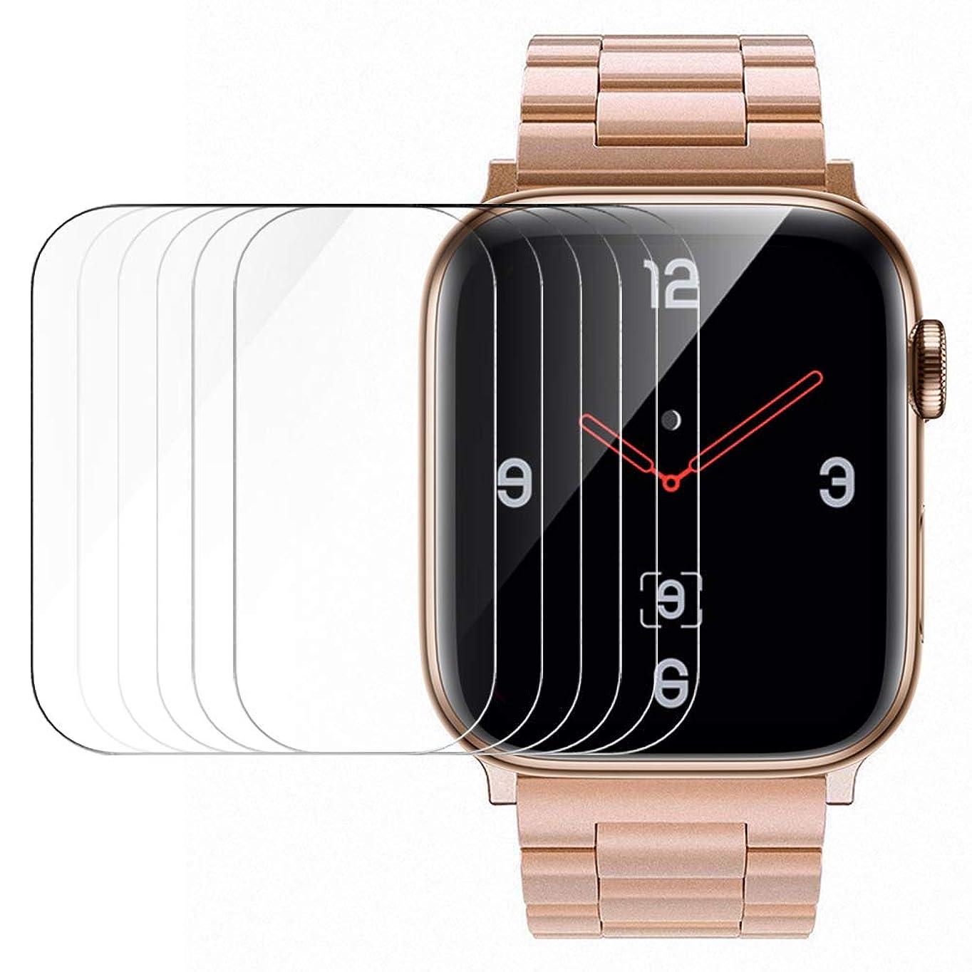 ばかげているサーマル疲労Simpeak【6枚入り】Apple Watch 40mm 対応 フィルム Apple Watch 5 / 4 適応 保護フィルム 40mm 高透過率 耐指紋 気泡防止 傷防止 TPU製 アップルウォッチ Series 4/5 適応 フィルム (40MM)
