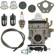 NIMTEK Carburetor Carb 300486 Kit Fit Earthquake E43 E43WC E43CE Auger MC43 MC43E MC43CE