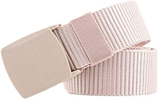 Bigood Women Men Unisex Casual Canvas Buckle Pant Belts Outdoors Belt