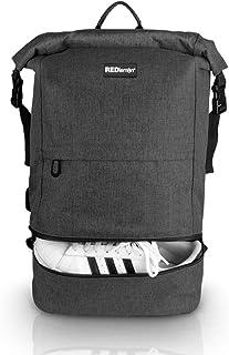 RedLemon Mochila Antirrobo Backpack Roll Top Impermeable,
