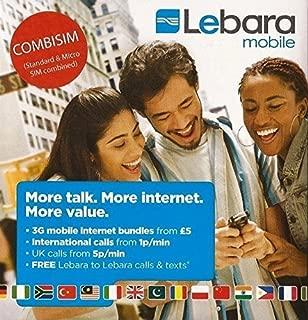 Amazon.es: LEBARA - Tarjetas SIM / Comunicación móvil y accesorios ...