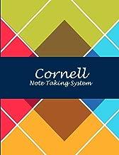Cornell Note Taking System: Art Triangle Design, 8.5 X 11 Cornell Notes Journal, Note Taking Notebook, Cornell Note Taking System Book, School and College Notebooks
