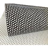 Vinilo de privacidad perforado unilateral para ventana, adhesivo, 137cm x 30cm