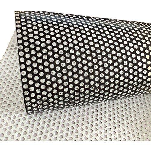 HOHO weiß Einweg perforiert Vinyl Sichtschutz Fensterfolie Sichtschutzfolie selbstklebend Glas Wrap Rolle Maße 137x 30cm