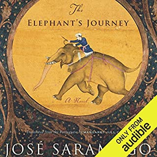 The Elephant's Journey audiobook cover art